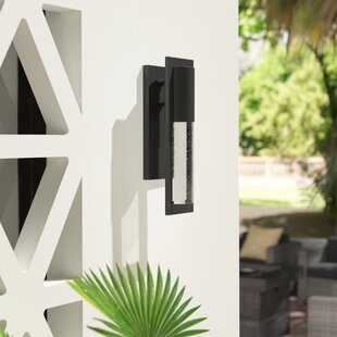 Affordable Price Craney 1-Light Outdoor Sconce By Brayden Studio