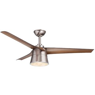 Reviews 52 Celeste 3 Blade LED Ceiling Fan with Remote By Wrought Studio