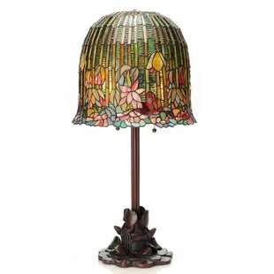 Big Save Creger Pond Lily Tiffany Style Stained Glass 29 Table Lamp By Fleur De Lis Living