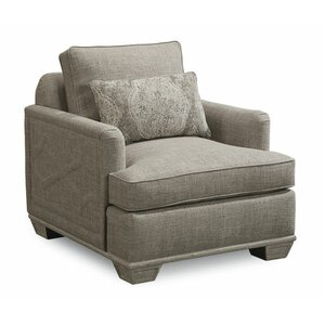 Carolin Gray Lounge Chair by One Allium Way