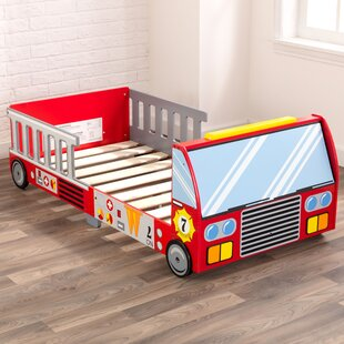 Affordable Firefighter Toddler Car Bed ByKidKraft