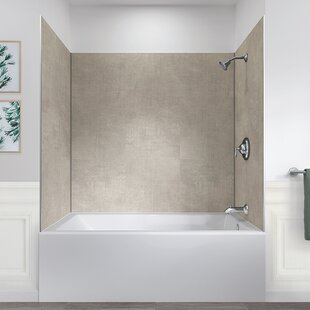 Jetcoat 78 X 60 32 Five Panel Shower Wall