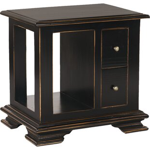Searching for Westport End Table with Storage By Bernhardt