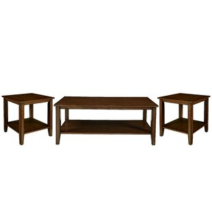 Top Reviews Meriam 3 Piece Coffee Table Set By Winston Porter
