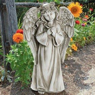 Divine Messenger Memorial Garden Angel Statue