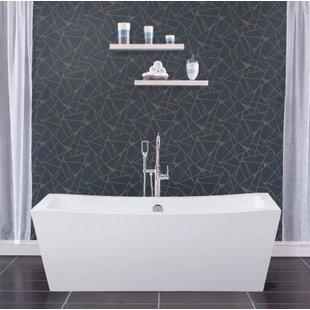 Big Save 70 x 34 Freestanding Soaking Bathtub ByMiseno