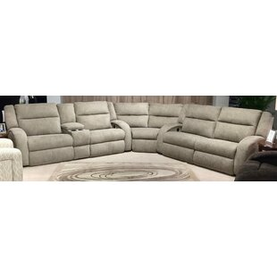 Maverick Leather Reclining Sectional