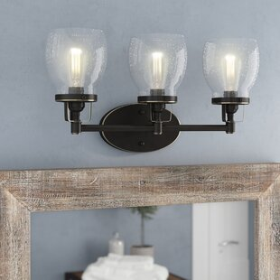Industrial vanity lights birch lane panorama point heirloom bronze 3 light vanity light aloadofball Gallery