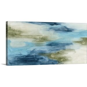 Ocean Flow II by Megan Meagher Painting Print on Canvas by Great Big Canvas