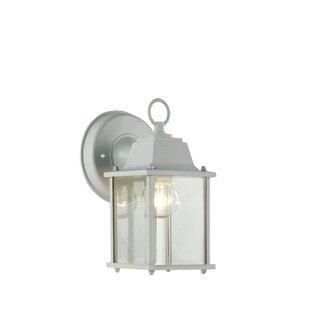 Outdoor wall lights flush mounts joss main ember 1 light outdoor wall lantern aloadofball Gallery