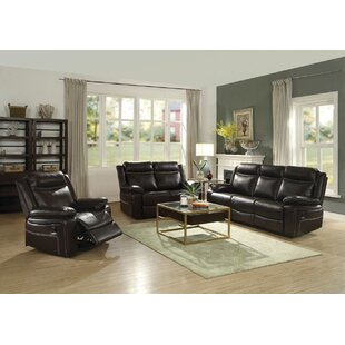 Dores Reclining Motion 3 Piece Living Room Set Darby Home Co