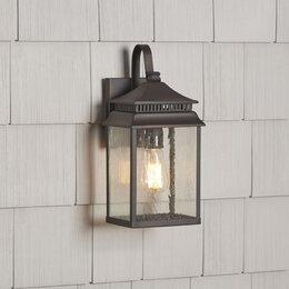 Outdoor lighting joss main outdoor wall lights flush mounts aloadofball Choice Image