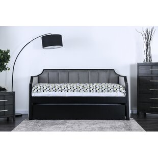 Edgao Twin Daybed with Trundle