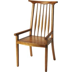 Olivos Solid Wood Dining Chair by Corrigan Studio
