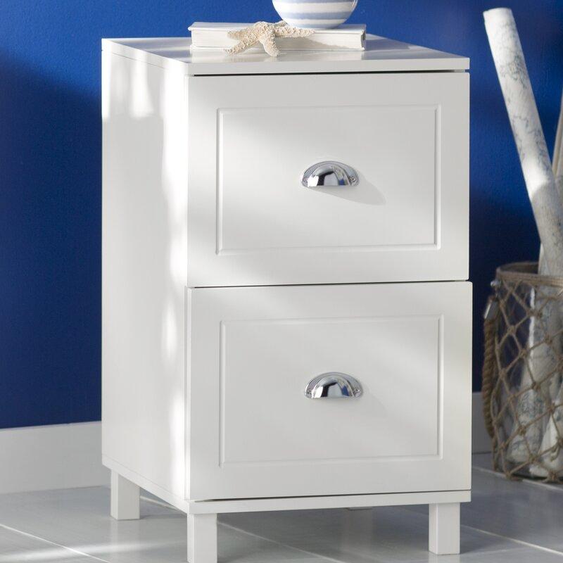 Orange City 2 Drawer Filing Cabinet