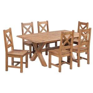 Essgruppe Glenmuir mit 6 Stühlen von Hazelwood Home