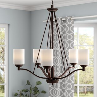 Order Hester 5-Light Shaded Chandelier By Andover Mills