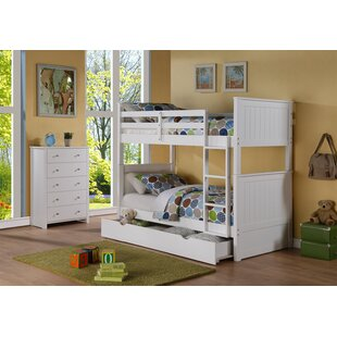 Watson Twin Over Twin Bunk Bed by Harriet Bee