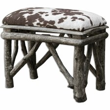 Chavi Upholstered Bedroom Bench by Uttermost