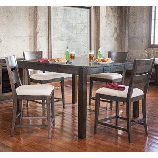 Hazelton 5 Piece Pub Table Set ByGracie Oaks