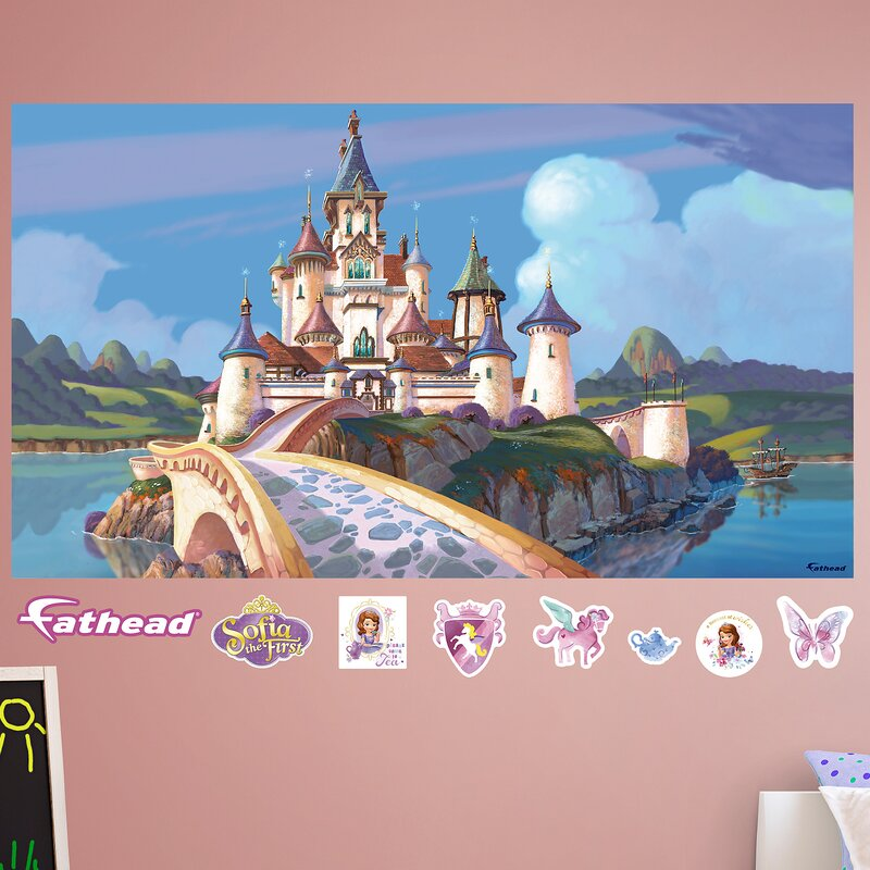 Disney Sofia The First Castle Peel And Stick Wall Decal Part 72