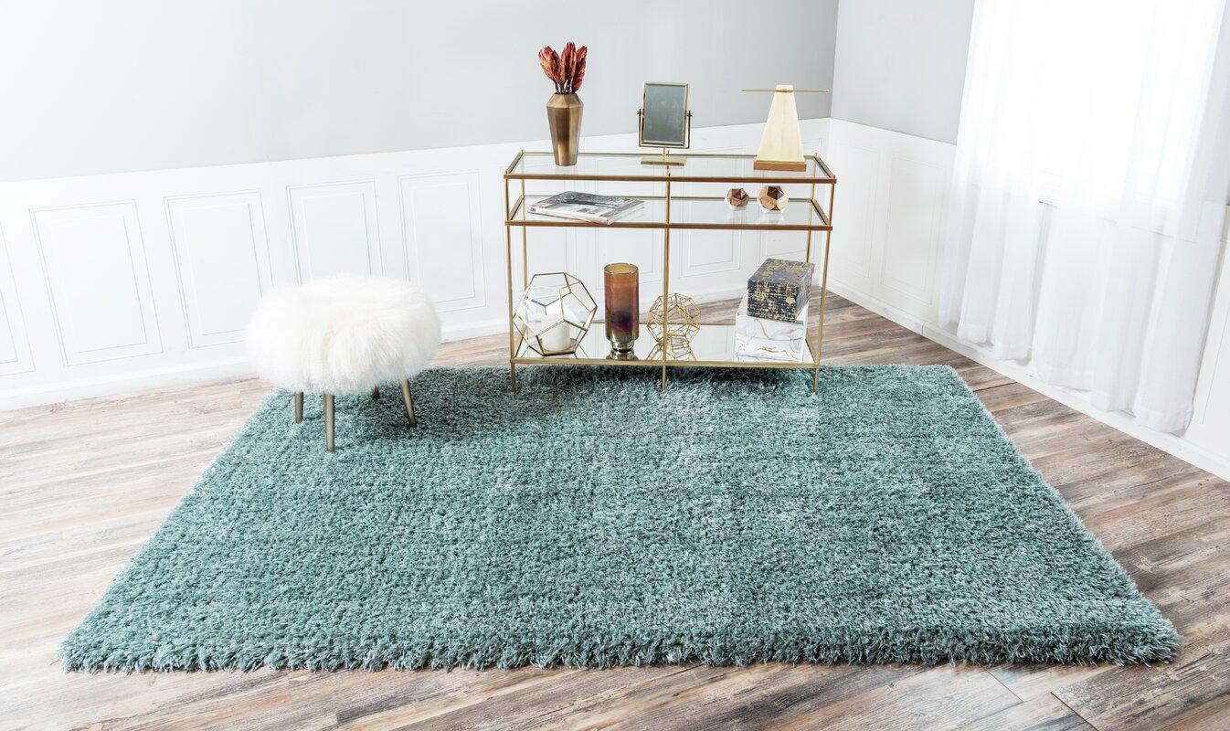 MarilynMonroe Blue Area Rug & Reviews | Wayfair