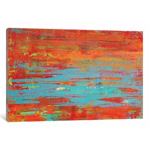 'Tempest' Painting Print on Canvas by East Urban Home
