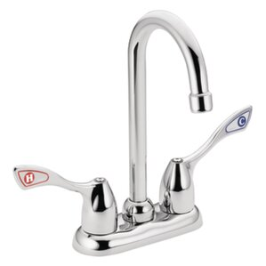 Moen M-Bition Double Handle Kitchen Faucet