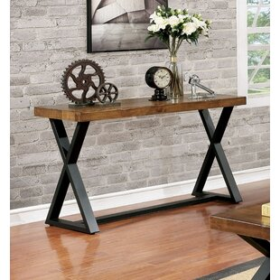 Sikeston Industrial Console Table