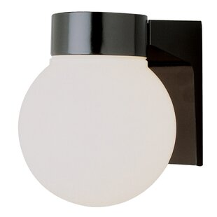Best Price Warnick 1-Light Flush Mount By Wrought Studio