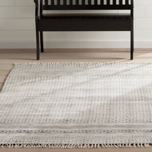 Online Reviews Oldtown Hand-Woven Gray Area Rug By Laurel Foundry Modern Farmhouse
