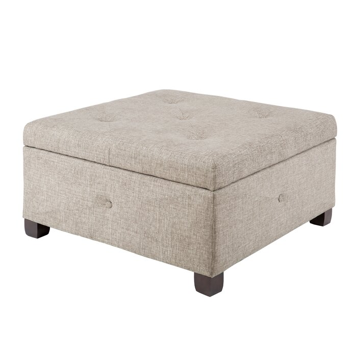 Peachy Bantom Tufted Storage Ottoman Unemploymentrelief Wooden Chair Designs For Living Room Unemploymentrelieforg