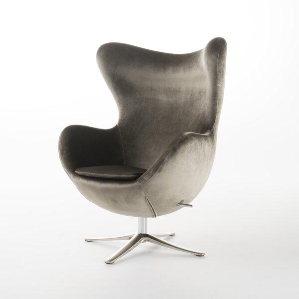 Stupendous Modern Contemporary Gordon Swivel Balloon Chair Allmodern Machost Co Dining Chair Design Ideas Machostcouk