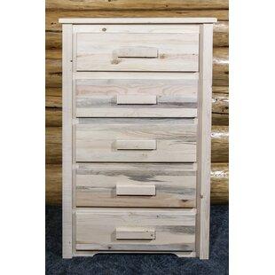 Katlyn 5 Drawer Standard Dresser/Chest ByMistana