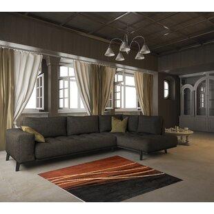 Read Reviews Villa Black Area Rug ByEbern Designs