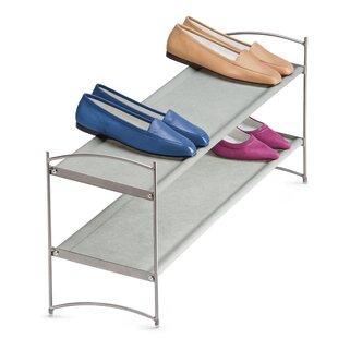Vela 12 Pair Stackable Shoe Rack Lynk®