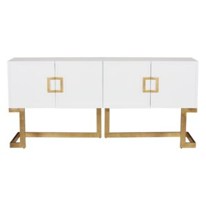 Media Console Table by Worlds Away