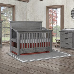 Price Check Waverly Panel 5-in-1 Convertible Crib By Evolur