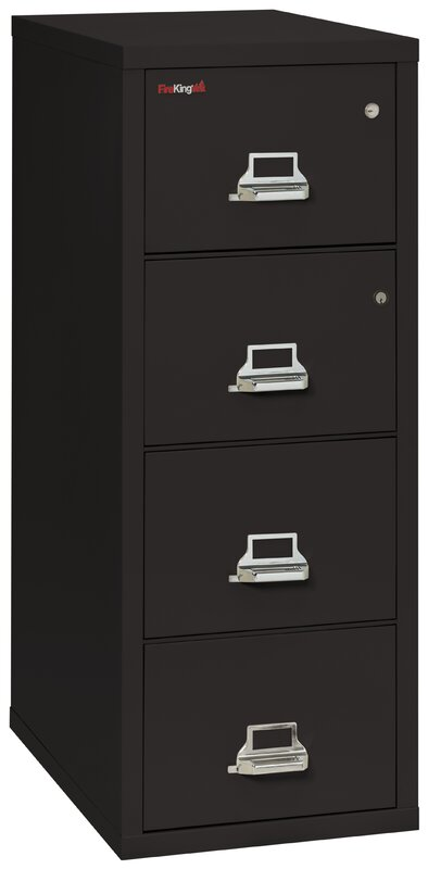fireking legal safe-in-a-file fireproof 4-drawer vertical file