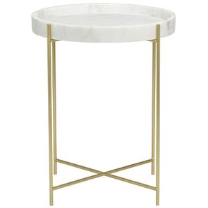 Chico Metal End Table by Noir
