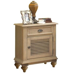 Quevillon 1 Drawer Nightstand by Lark Manor