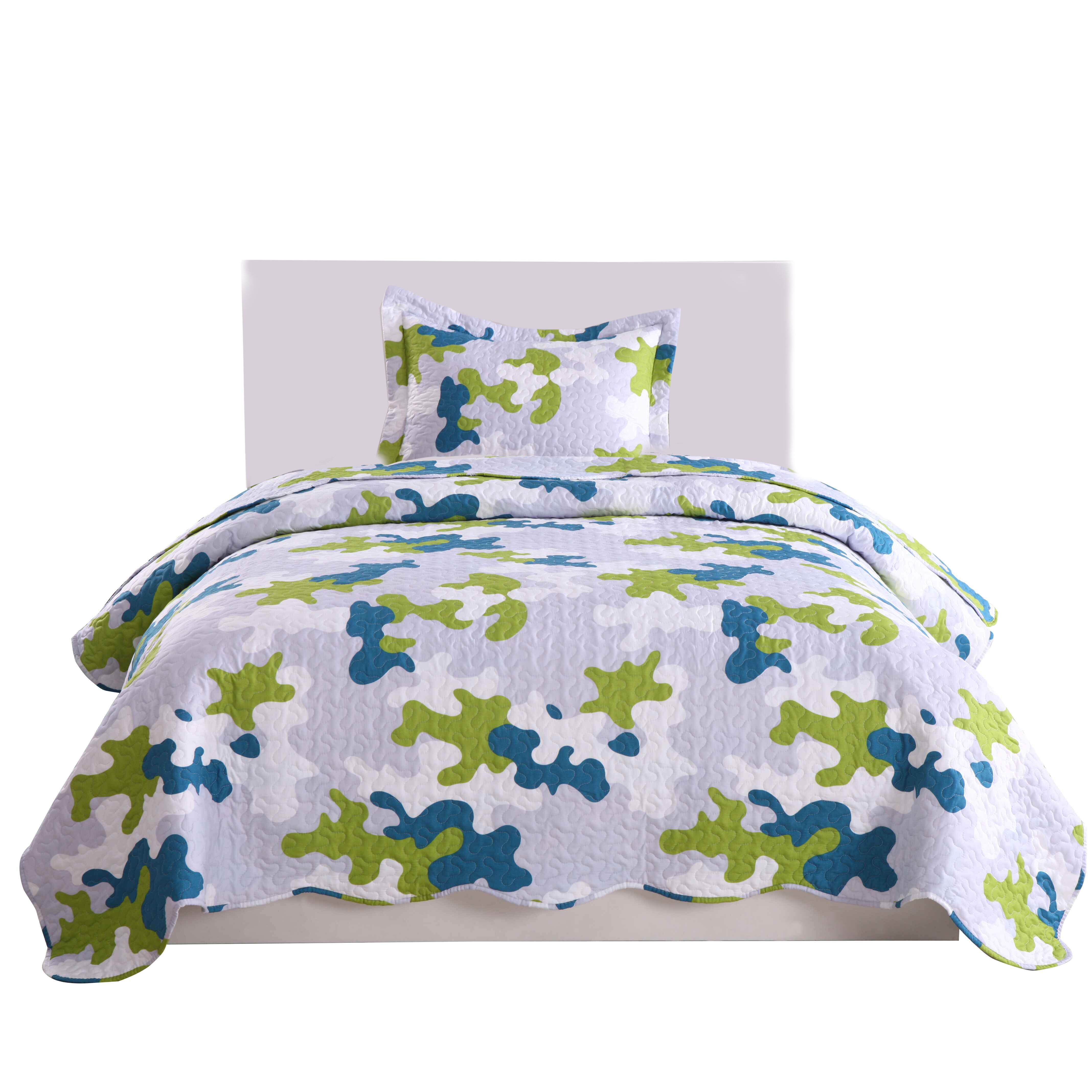 CAMOUFLAGE SLEEP CHILL SNOOZE ARMY PRINT CAMO GREY BLACK BEDDING OR CURTAINS