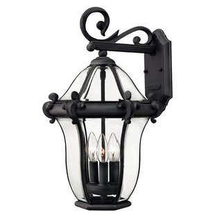 Price Check San Clemente 3-Light Outdoor Wall Lantern By Hinkley Lighting