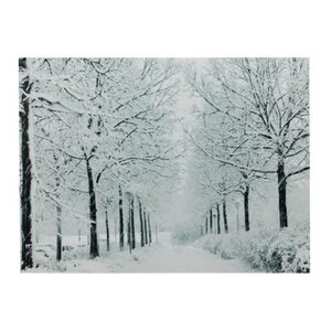 'Snowfall Winter Lane Christmas' Photographic Print on Canvas by The Holiday Aisle