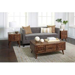 Ashland Modern Living 3 Piece Coffee Table Set By Union Rustic