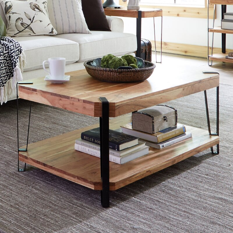 Union Rustic Tindal Coffee Table With