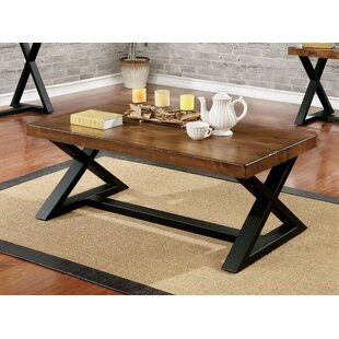 Affordable Price Stahl Industrial Coffee Table By17 Stories