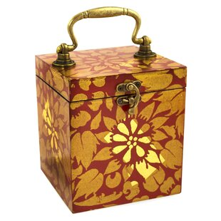 Affordable Lady of Lanna Wood Jewelry Box By Bloomsbury Market