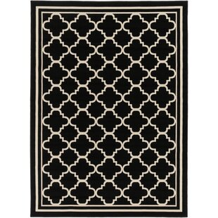 Purchase Osage Black Indoor/Outdoor Area Rug ByCharlton Home