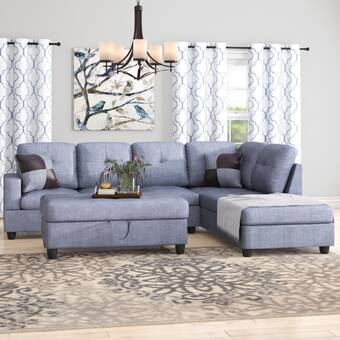 Strange Winston Porter Maumee Sectional With Ottoman Reviews Wayfair Gmtry Best Dining Table And Chair Ideas Images Gmtryco